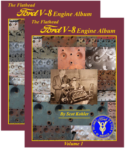 The Flathead Ford V-8 Engine Album (use Double book shipping rate)