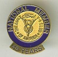 40 Year Membership Pin