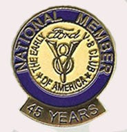 45 Year Membership Pin