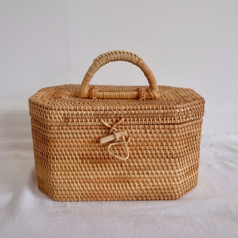 D' Straw box bag - We11made