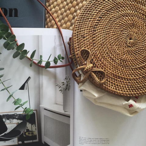 D' Round rattan bag - We11made