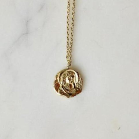 Rose Pendant Necklace - We11made