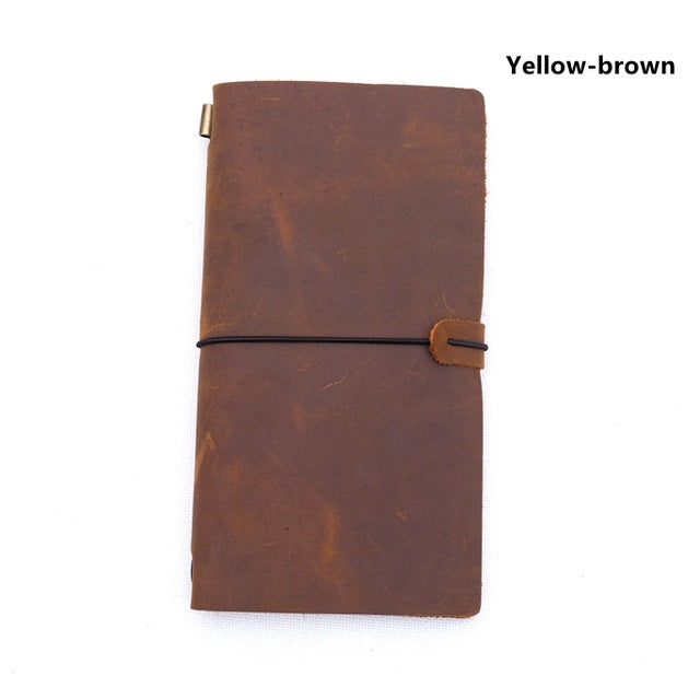 Genuine leather traveller's diary (S)
