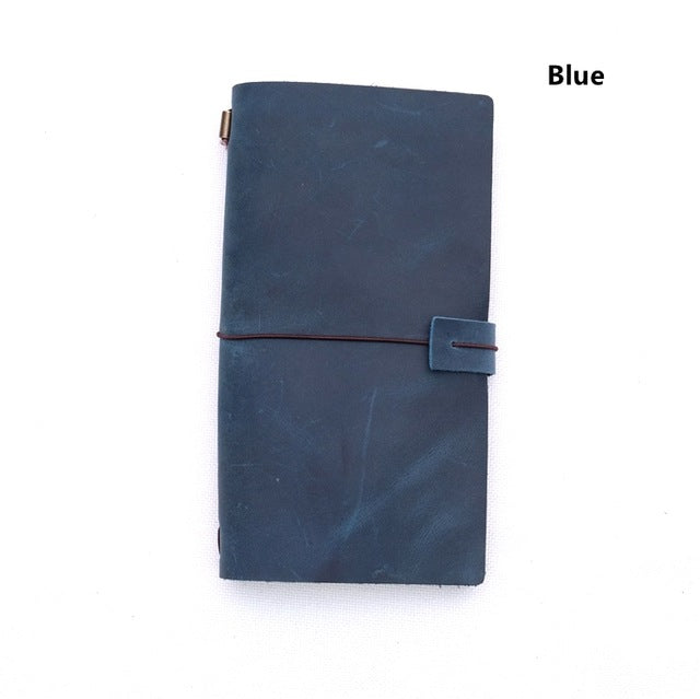 Genuine leather traveller's diary (L)