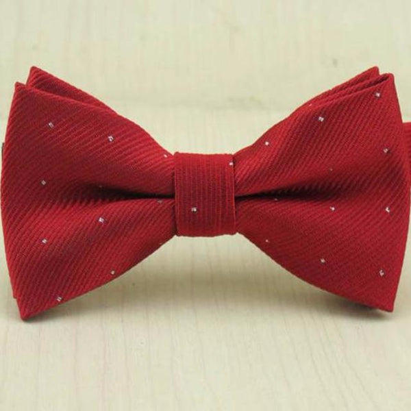 Red Dot Bow Tie for Boys
