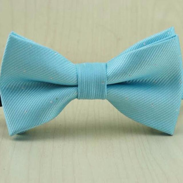 Sky Blue Bow Tie for Boys
