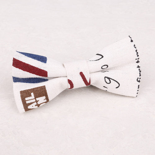 Print Pattern Boy's Bow Tie