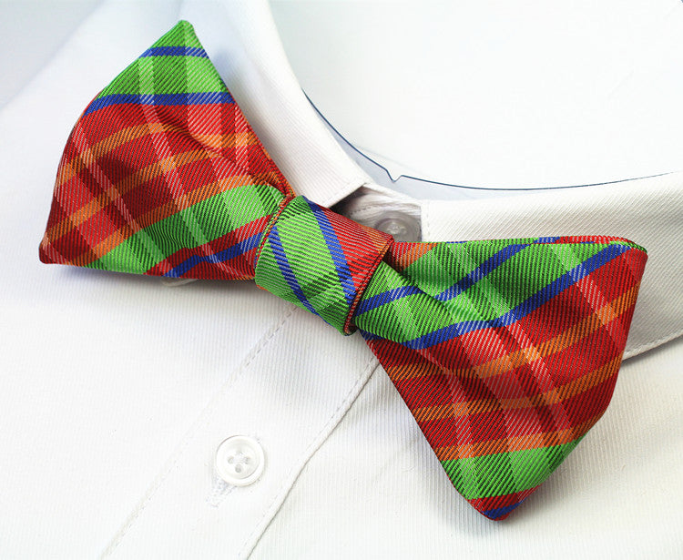 100% Silk Mens Self Tie Bow Ties