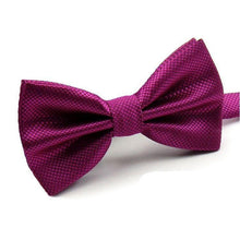 Men's Formal Solid Color Bow Tie