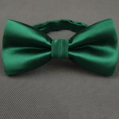 Classic Solid Candy Color Tuxedo Bow Ties