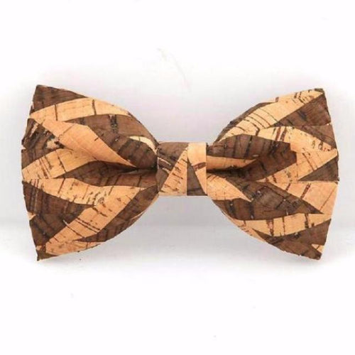 Personality Corkwood Bow Ties For Men