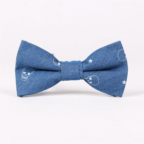 Retro Trendy Cotton Bow Tie For Men