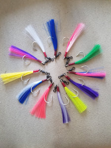Tackle-COD FLIES: We offer a dozen color options to choose from!