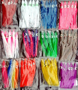 Tackle: Squid Skirts Sold in 5packs