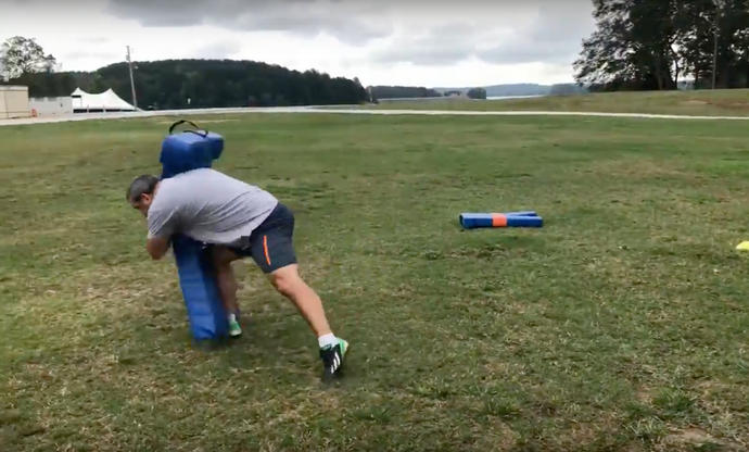 How to Use the Hawk Tackle Dummy to Learn Rugby-Style Tackling