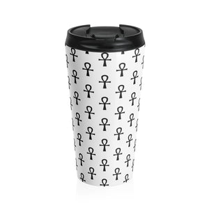 Ankh Stainless Steel Travel Mug
