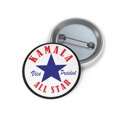 Kamala Pin Buttons
