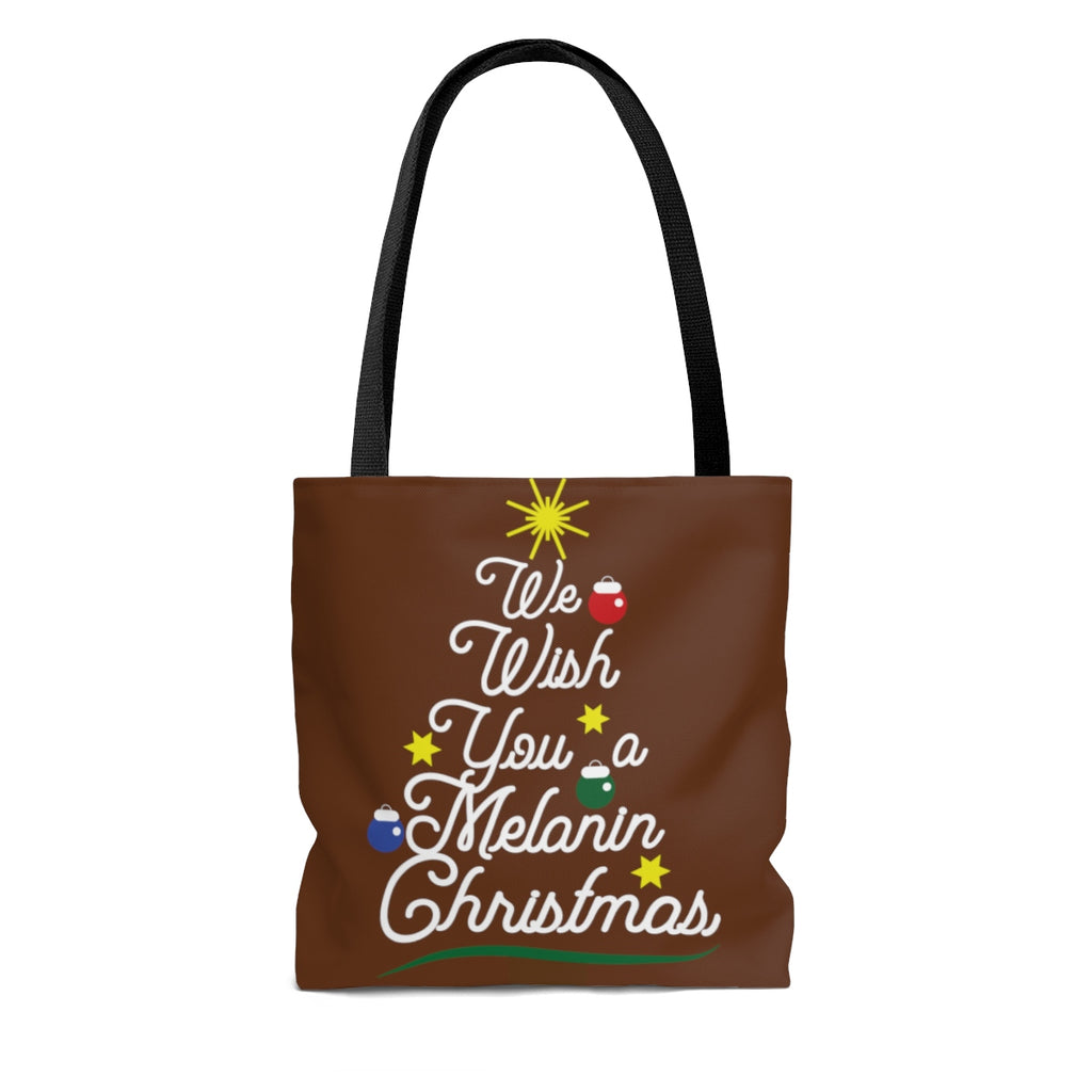 We Wish You a Melanin Christmas Tote Bag