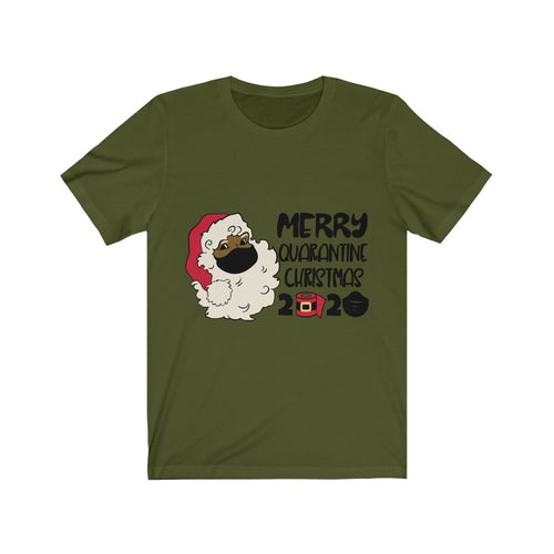 Merry Quarantine Christmas Unisex Jersey Short Sleeve Tee
