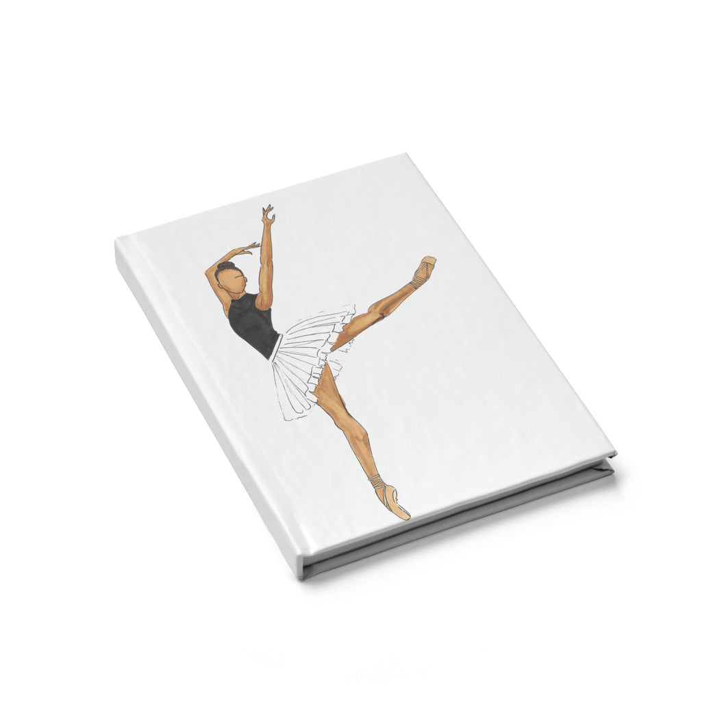 Prima Ballerina Blank Journal