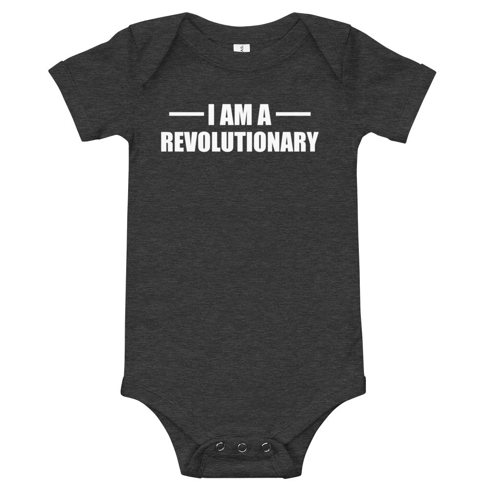 I am a Revolutionary Baby short sleeve one piece
