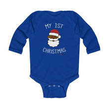 My 1st Christmas Long Sleeve Bodysuit