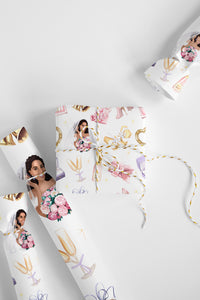 Engagement Wedding Wrapping Paper Roll