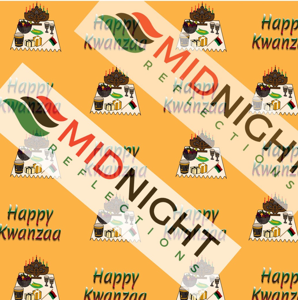 Kwanzaa wrapping paper kit