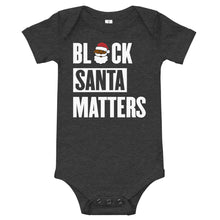 Emoji Black Santa Claus Matters Infant Body Suit