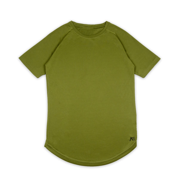 Short Sleeve Mesh Performance Shirt - Olive