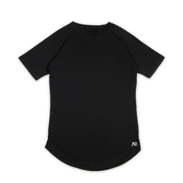 Short Sleeve Mesh Performance Shirt - Black