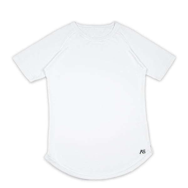 Short Sleeve Mesh Performance Shirt - White