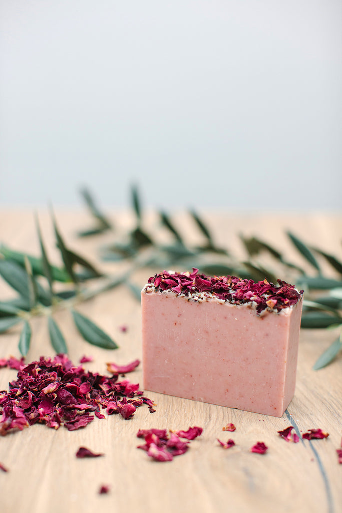 Bed of Roses Soap - Soothe Essential Natural Products