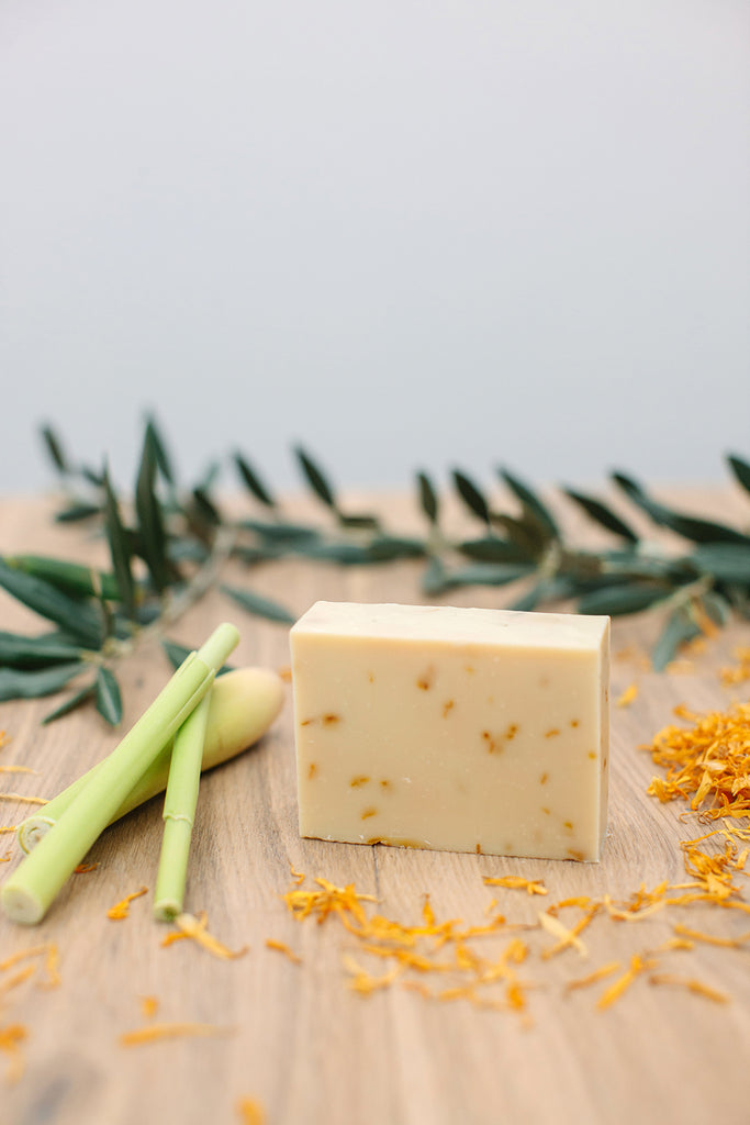 Lemongrass Soap - Soothe Essential Natural Products