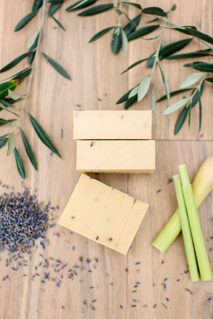 Lavender & Lemongrass Soap - Soothe Essential Natural Products