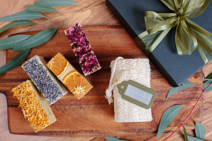 Loofah & Soap Gift Pack - Soothe Essential Natural Products