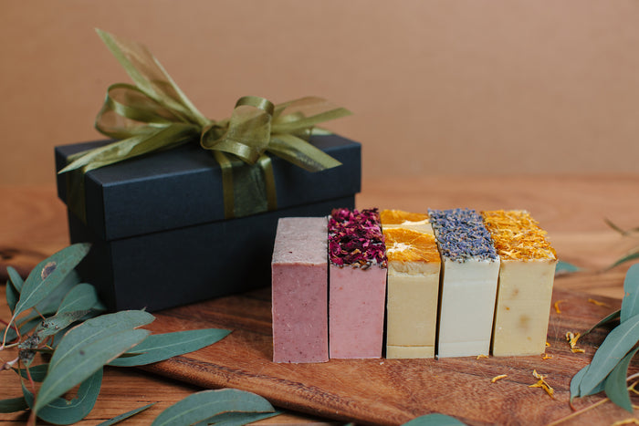 Five Soap Bars Gift Pack - Soothe Essential Natural Products