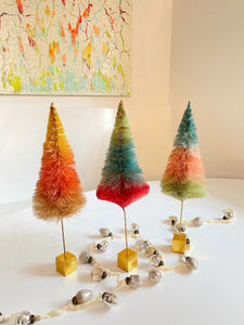 Rainbow Sisal Trees - Short