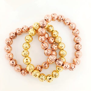 Lava Mix-Rose Gold/Gold