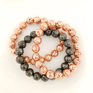 Lava Mix-Rose Gold/Gunmetal