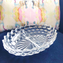 Fostoria Divided Dish American Pattern