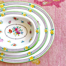5 Piece Floral Serving Set