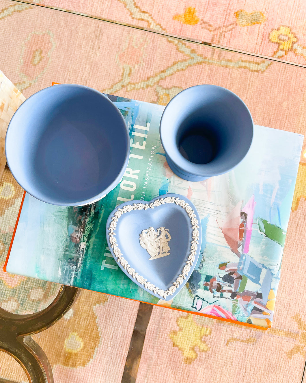 Wedgwood Jasperware Heart Dish
