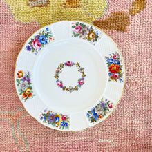 Multi-Color Floral Plate (Set of 2)