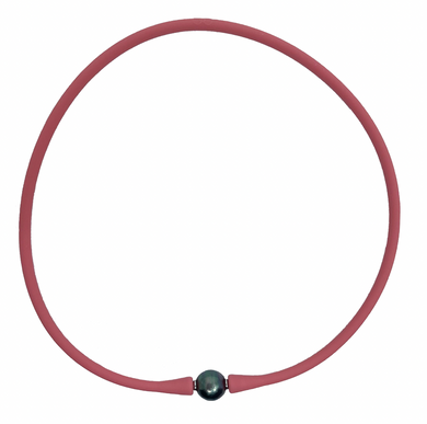Nantucket Red Maui Necklace - Tahitian Pearl