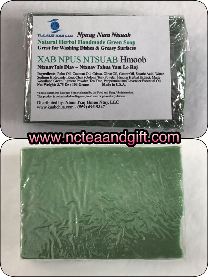 Natural Herbal Hand-Made Green Soap