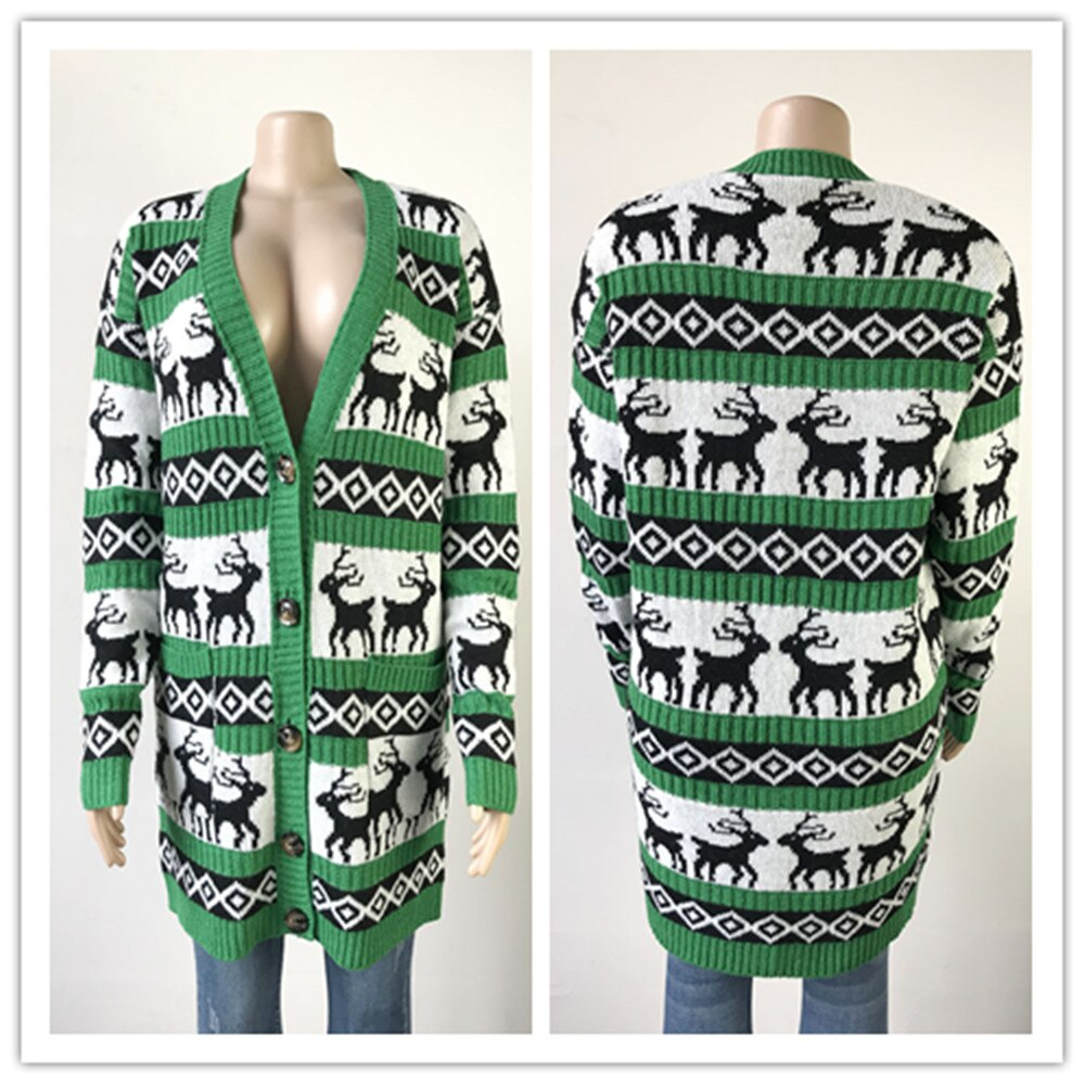 "New Cute Classic Holiday Exclusive ""Ugly Xmas"" Cardigan Sweaters"