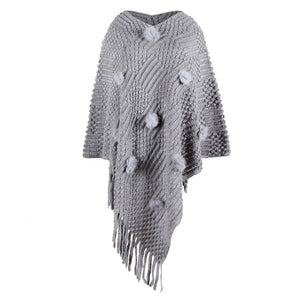 "New ""Autumn"" Knitted Loose Shawl"
