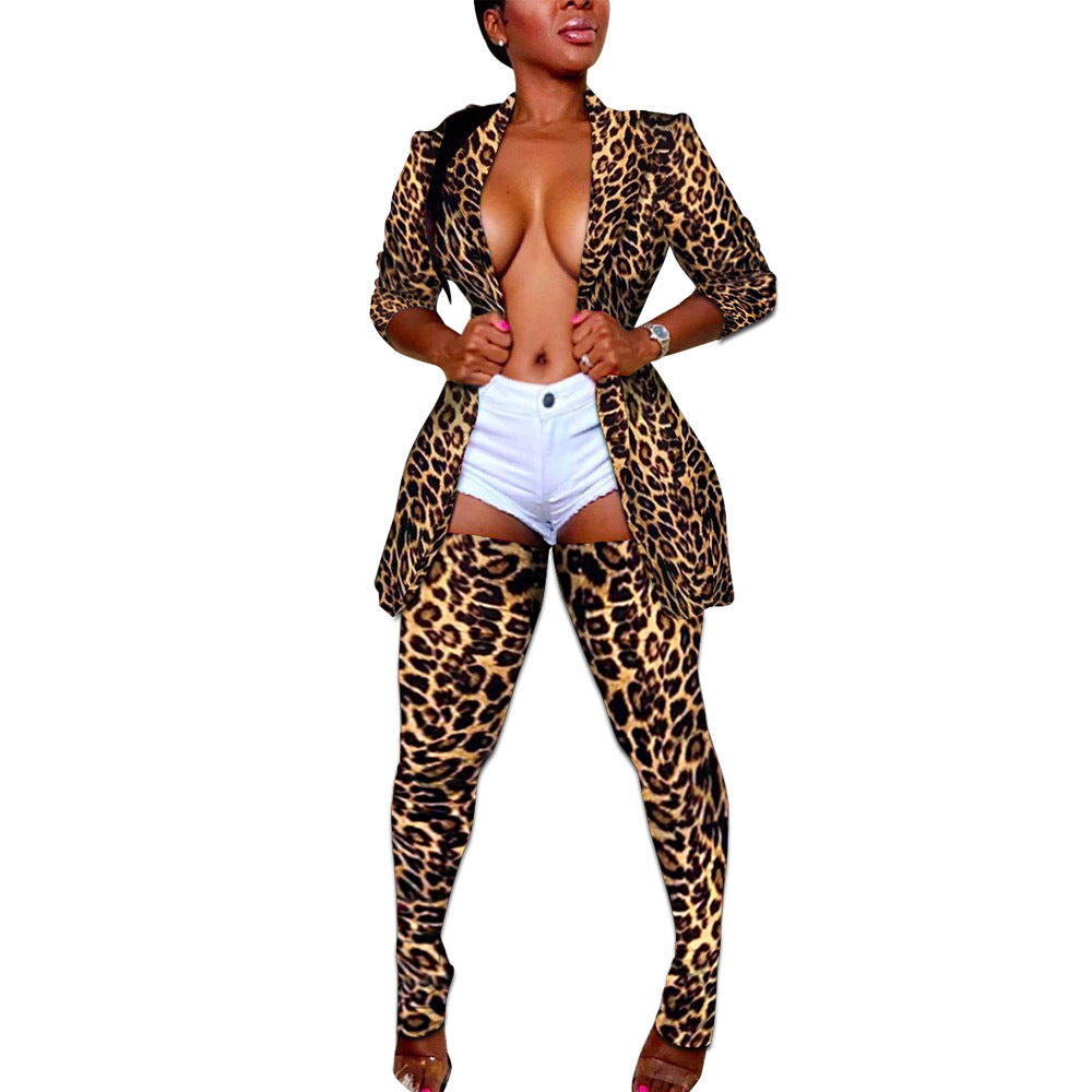 "Exclusive New Hot ""Fantasy"" Blazer Jacket + Matching Thigh-high Stocking Sets"