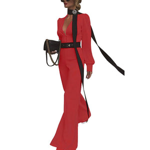 "Executive Hot Classy ""About My Business"" Jumpsuit"